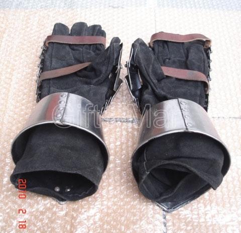 Medieval armour gloves, Combat Mitten Gauntlets , Reenactment GAUNTLETS Armour M