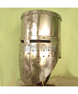 Medieval knight Templar Helmet Crusader Helmets With Free Leather Inner ... - $94.99
