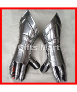 Medieval Gauntlets, Functional Armor Gloves - Armour Knight Mitten Gaunt... - $65.99