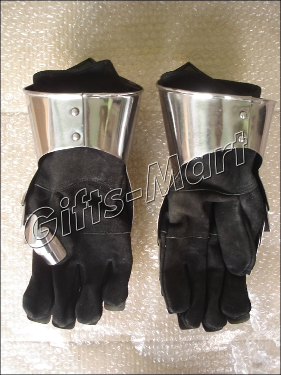 Medieval Gauntlets, Functional Armor Gloves, Ancient Knight Armour Gauntlet Pair