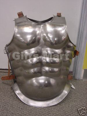 Roman Muscle Breast Plate Medieval Armor Cuirass LARP, Chest Plate Armour Sca