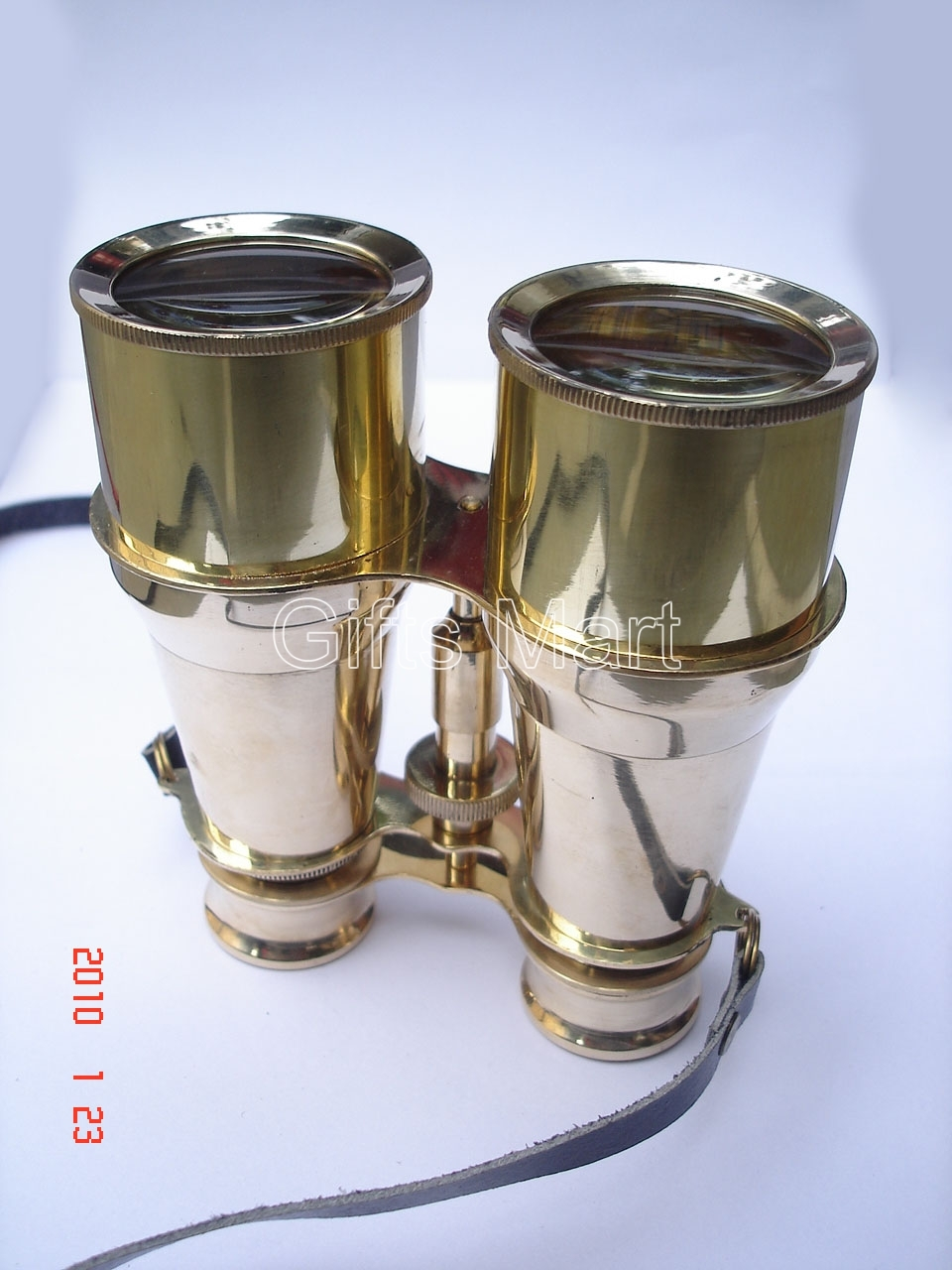 "Solid Brass Binoculars 6"" Home Nautical Survey, Decor Real, Hobby gifts,,Ideas,"