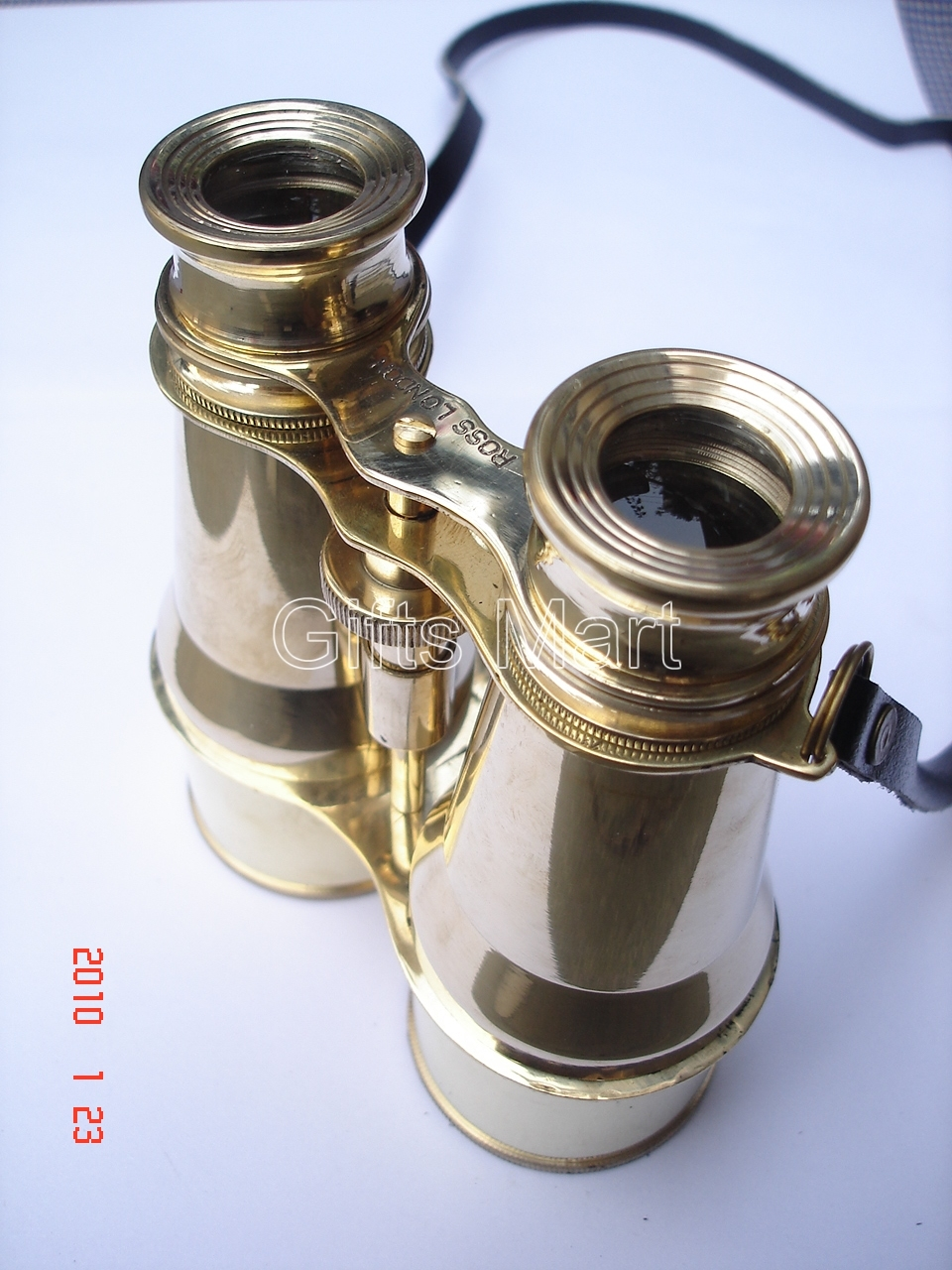 "Solid Brass Binoculars 6"" Home Nautical Survey, Decor Real, Unique,Gift,Item,,"