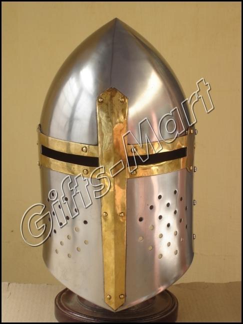 Sugar Loaf Helmet Medieval Sugarloaf knight Helmets, Collectible helmets, Replic