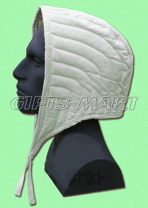 UNTERZIEHHAUBE Bundhaube Ritter Helm LARP Rüstung, Helmet Inner Cotton Cap