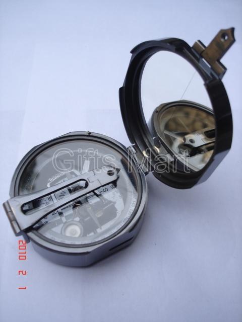 Vintage Brass Brunton Compass Antique Maritime,Reproduction Marine Nautical Gift