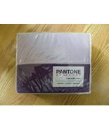PANTONE PURPLE MAGIC/ORCHID BLOOM TWIN SHEET SET 100% COTTON SATEEN - $33.75
