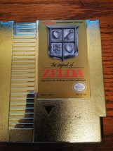 NES 1985 GOLD LEGEND OF ZELDA AND NES GAME JOUST 1985 TESTED AND CLEANED - $51.43