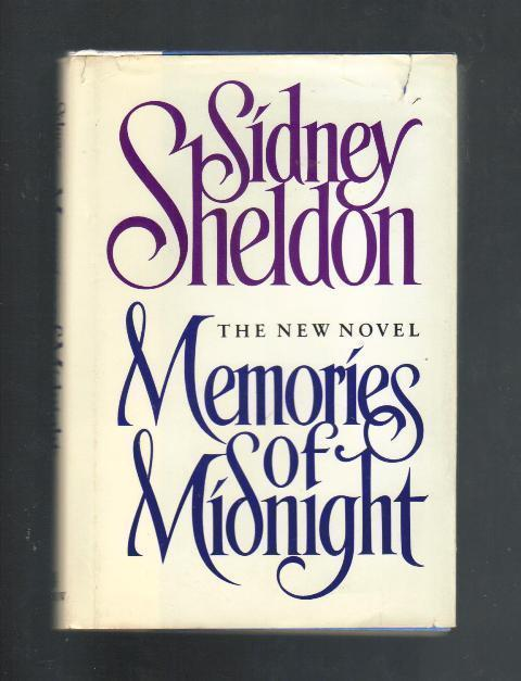 Memories of Midnight, The New Novel by Sidney Sheldon, 1990