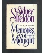 Memories of Midnight, The New Novel by Sidney Sheldon, 1990 - $3.00