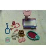 Lot of   Hasbro 2005 Littlest Pet Shop Animals and Accessories Veterinar... - $14.97