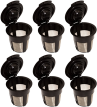 Reusable Refillable Coffee Pod Filters Compatible With Keurig 1.0 Coffee... - $12.55