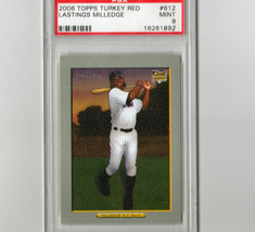 2006 Topps Turkey Red Lastings Milledge #612 PSA 9 P458 - $4.75