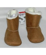 Rising Star Infant Shoes Boots Tan with White Insides Sz 6-9 Mo. NWT - $9.99