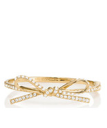 Kate Spade New York Bracelet Skinny Mini Pave Bow NEW - $67.32