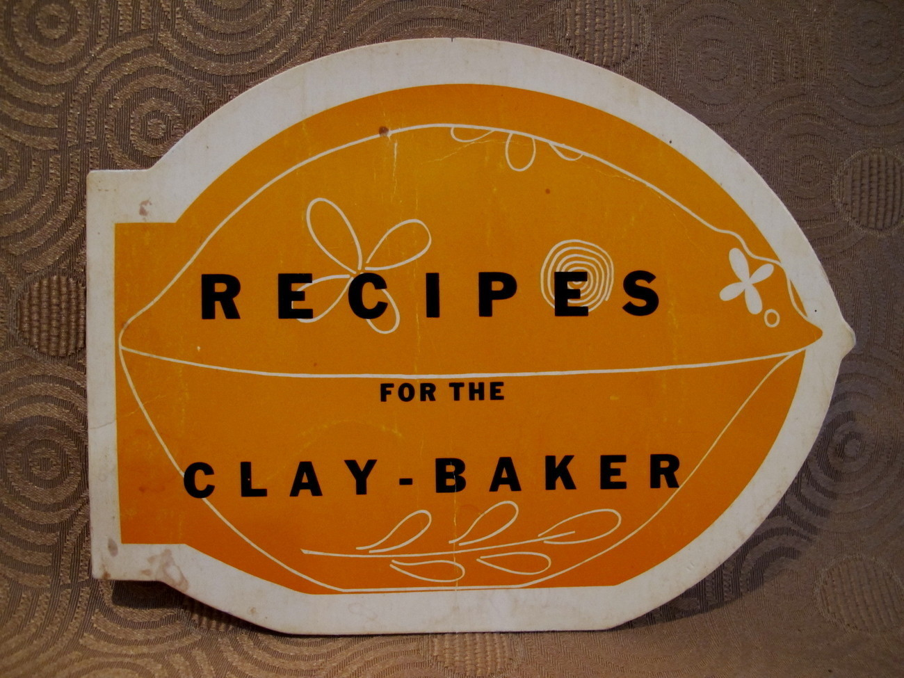 Primary image for Clay Bake Recipes Cookbook Vintage Clay Baker Collector