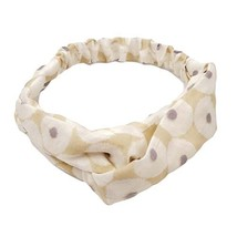 Cute Hairband Cotton/Linen Vintage Elastic Hair Band Nylon Head Wrap Headband