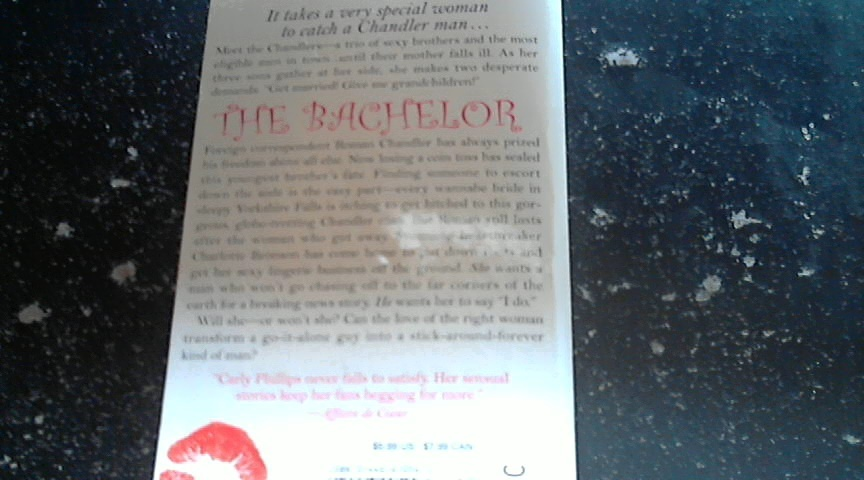 The Bachelor By Carly Phillips (2002 Paperback)