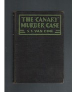 The Canary Murder Case, S. S. Van Dine, Hardcover Collectible - $6.50