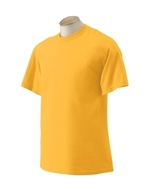 Gold Size Large  Gildan 2000 Ultra Cotton T-shirt 200 - $7.17