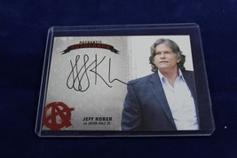 Sons of Anarchy Seasons 4 & 5 autograph card JK Jeff Kober Jacob Hale Jr... - $29.99