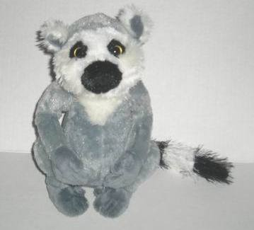 Primary image for Webkinz ringtailed ring tailed lemur plush toy no codes