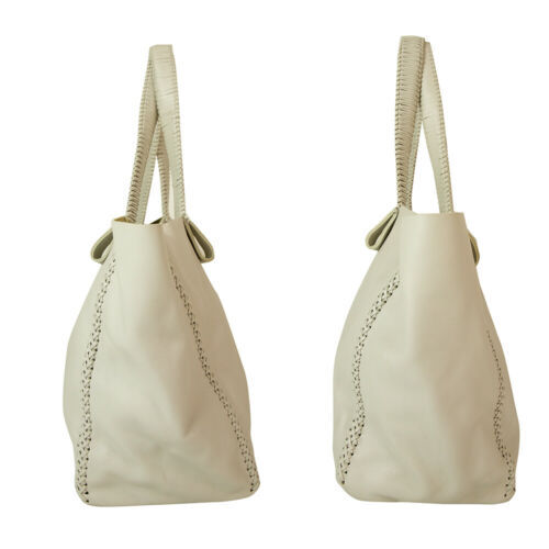 "Callista Crafts Ultra Light gray ""Ice"" color Tote Shoulder Bag Handbag Hobo image 4"