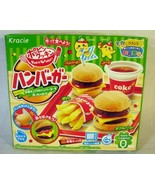 Kracie Poppin Cooking Fast Food Hamburger Kit Candy - $6.92