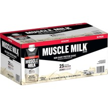 Muscle Milk Genuine Non-Dairy Protein Shake, Vanilla (11 18 - $34.26