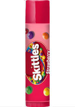 Lip Smacker Skittles STRAWBERRY Candy Lip Balm Lip Gloss Chap Stick Baby Lips - $3.00