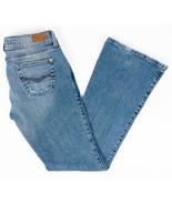 Mavi Mindy Womens Flare Leg Jeans Low Rise Medium Wash Size 28x32 - $21.93