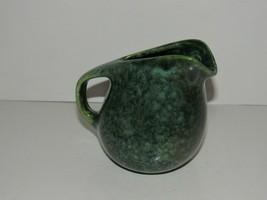 Roseville Raymor Creamer Frogskin Green - $42.75