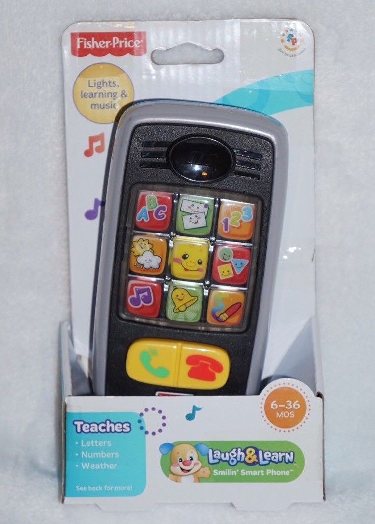 Fisher Price Laugh Learn Smilin Smart And Similar Items Phone Nib