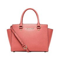 New Michael Michael Kors Women Selma Medium Satchel Bag Variety Colors - $249.99