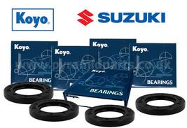 Front & Rear Koyo Wheel Bearing Kit for Suzuki GSXR1300 Hayabusa - $45.35