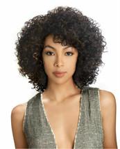 Sensual Vella Vella Synthetic Curly Hair Medium Full Wigs - ERIN - $27.95