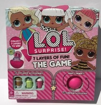 LOL Surprise Doll 7 Layers Of Fun Board Game! Limited Release NIB Sealed - $12.00