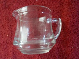"Vintage Clear Glass Kellogg's ""Correct Cereal Creamer"" Pitcher (DB) - $3.99"