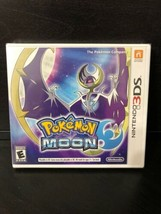 Pokemon Moon Nintendo 3DS 2016 Video Game New Factory Sealed - $29.65