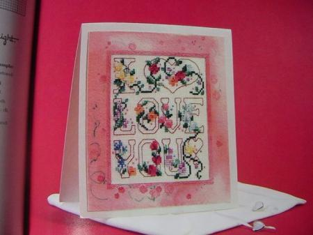 Greetings in Cross Stitch The Vanessa - Ann Collection Hardback Book