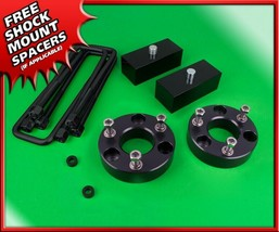 "Fits 04-20 Nissan Titan 3"" Front + 2"" Rear Level Lift Kit Black Billet 4... - $120.00"