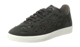 adidas Womens Gazelle Cutout Low-Top Sneakers, Black 5 UK - $79.52