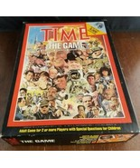 Vintage 1983 TIME The Board Game Trivia John N Hansen Company USA - $10.83
