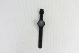 New Lacoste Unisex Analog Wrist Watch with Silicon Rubber Strap Black Gray - $44.50