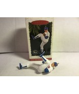 "Hallmark Keepsake 1996 Christmas Ornament ""Nolan Ryan"" Texas Rangers New... - $11.00"