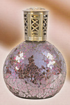 Kirklands Red Mosaic Glass Fragrance Lamp (NIB) - $19.75