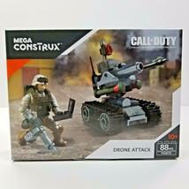 Mega Construx Call Of Duty Drone Attack Collector Construction Set 88 Pc... - $9.89