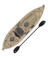 """Lifetime Muskie Angler Sit-On-Top Kayak with Paddle, Tan, 120"""" - $264.49"""