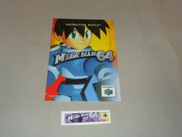 Mega Man 64, Manual & End Label, Nintendo 64 - $14.99