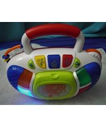 Hap-p-kid Toy Record Music Player Without  Records Lights Up Plays Music - $12.38